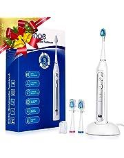 Liaboe Cepillo Dientes Electrico Sónico, Recargable Cepillo Dental Electrico con 3 Modos, Base de