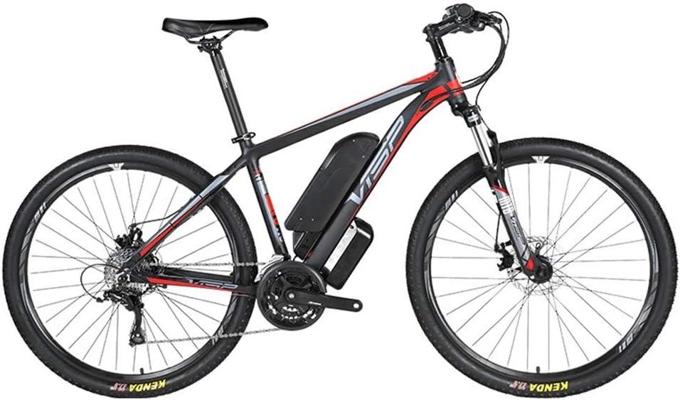 D&XQX Bicicleta eléctrica Montaña (26-29 Pulgadas), con Gran Capacidad extraíble de Iones de Litio (36V 250W), Bicicleta eléctrica 24 Speed Gear y Modos de Trabajo de Tres