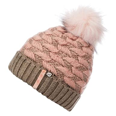 ea98b50adf9 LeMieux My Banff Pom Pom Beanie Hat - Blush Pink  Amazon.co.uk ...