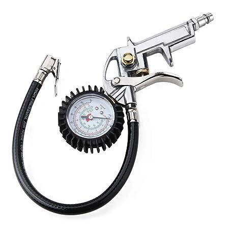 Crazo Pistola Inflador Sopladora para Neumáticos Coche: Amazon.es: Electrónica
