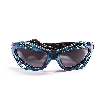 Ocean Sunglasses Cumbuco - gafas de sol polarizadas - Montura : Azul Transparente - Lentes :