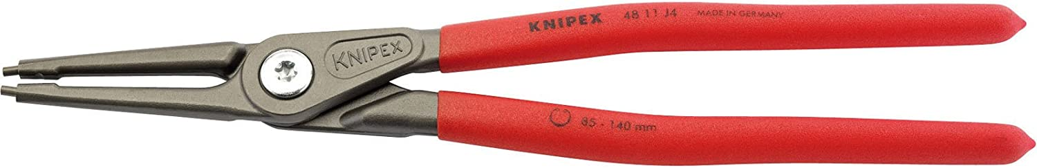 Over item handling Knipex 75081 Max 65% OFF 320mm Internal Straight 85-140mm Tip Circlip Pliers