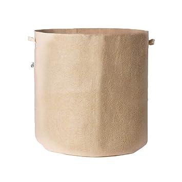 Amazon.com: 5 bolsas de tela para plantas transpirables ...