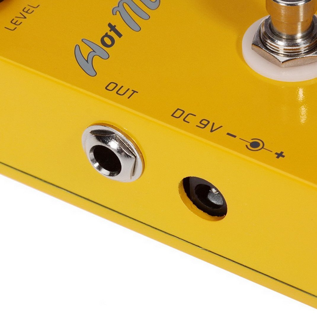 fitTek Caline CP-10 Guitarra Compresor Pedal de Efectos Cubierta Aleaci/ón de Aluminio Real Bypass