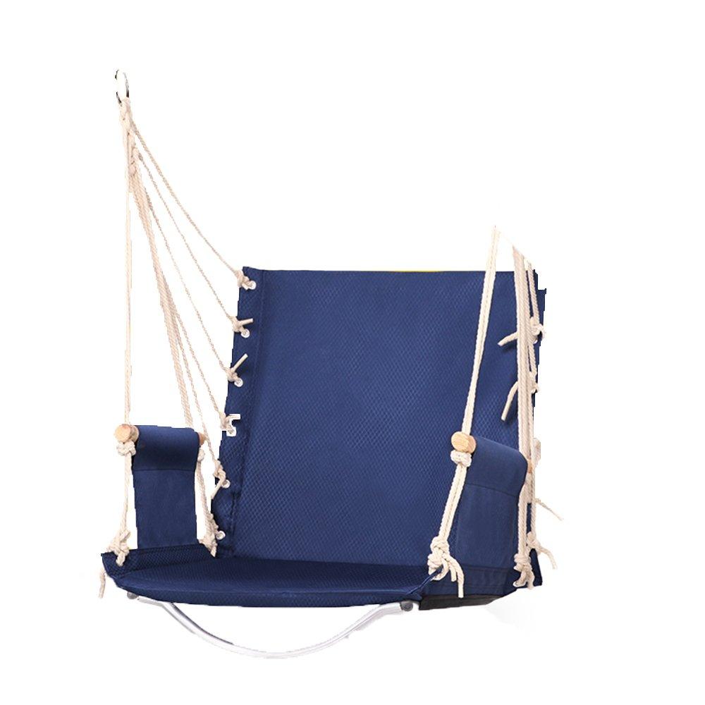 QFFL diaochuang ハンモック高強度環境保護オックスフォード布強化吊り椅子大人の屋内と屋外のレジャーハンモック (色 : E) B07D77GL6R E E