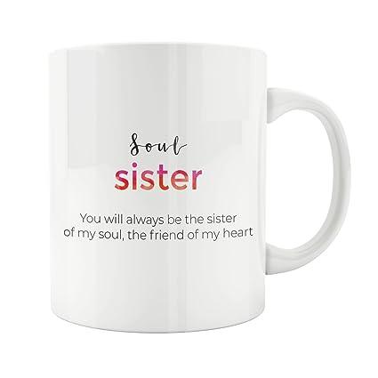 Amazon Sister Gifts Long Distance Mug State To