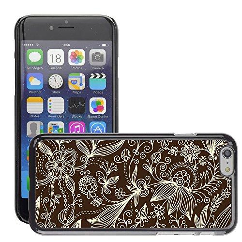 "Premio Sottile Slim Cassa Custodia Case Cover Shell // V00002527 motif floral // Apple iPhone 6 6S 6G PLUS 5.5"""