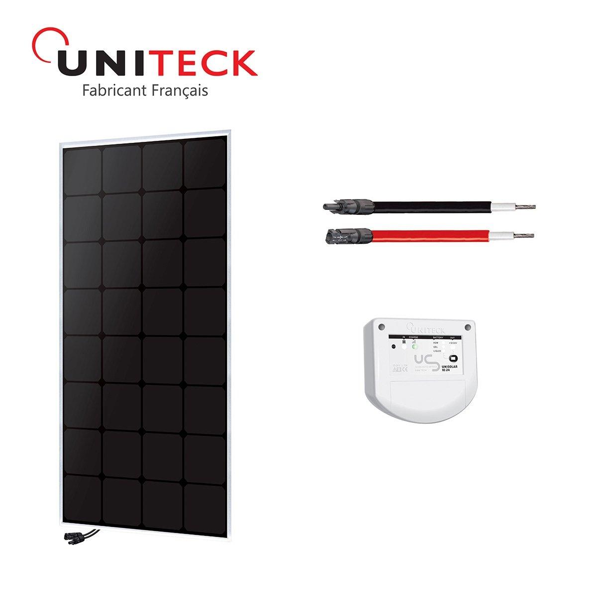 Kit solar 100W back-contact 12V uniteck