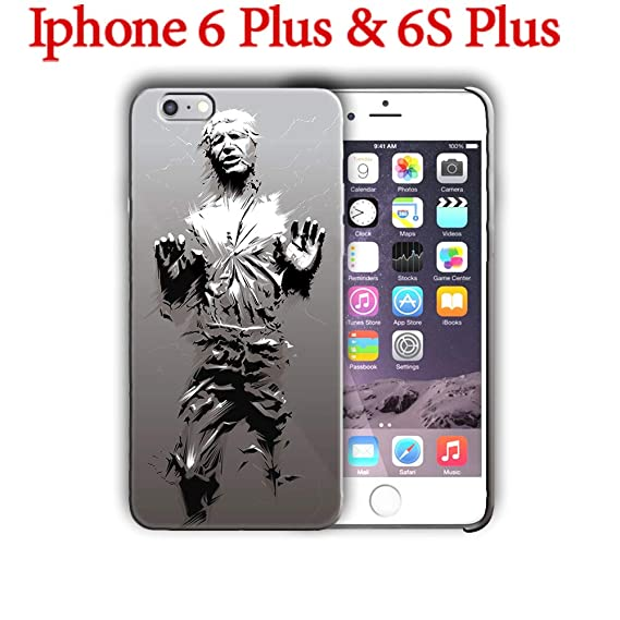 new arrival f6f64 0b933 Amazon.com: Hard Case Cover with Star Wars, Han Solo, Carbonite ...