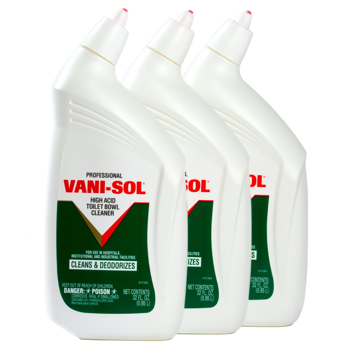 Vani-Sol プロフェッショナル トイレボウルクリーナー (32液量 3オンス。) B00MH5CQXA