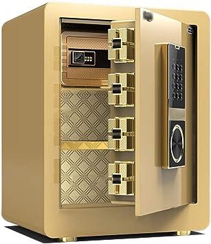 LJJL Caja fuerte Caja Fuerte, Doble Alarma Inteligente De Acero Antirrobo Oficina, Hotel Caja Fuerte En La Pared En El Armario Cash Box, Box Contraseña Del Archivo cajas fuertes: Amazon.es: Bricolaje y