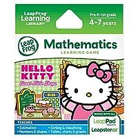 Juego de aprendizaje LeapFrog Hello Kitty: Sweet Little Shops (funciona con las tabletas LeapPad y LeapsterGS)