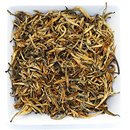 Tealyra - Imperial Golden Monkey - Yunnan Black Loose Leaf Tea - Best Chinese Tea - Organically Grown - Bold Caffeine - 110g (4-ounce) (Thai Monkey)