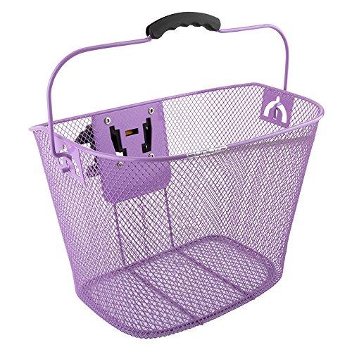 Sunlite QR Mesh Basket w/ bracket, Purple
