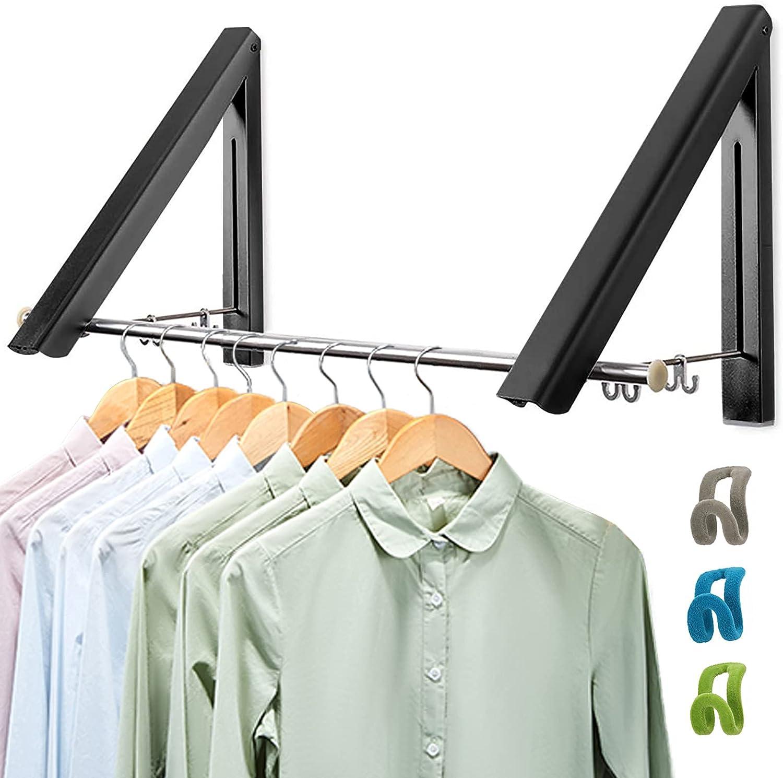 Klappbarer KleiderbüGel für die Wandmontage Kleiderhaken mit R8X4