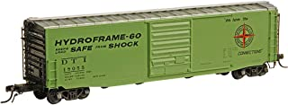 product image for PS-1 50' Boxcar w/9' Door - Ready to Run -- Detroit, Toledo & Ironton #18055 (As-Built 1962, green)