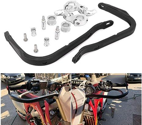1/paio moto manubrio protezione Dirt bike Paramani per 22/mm 28/mm