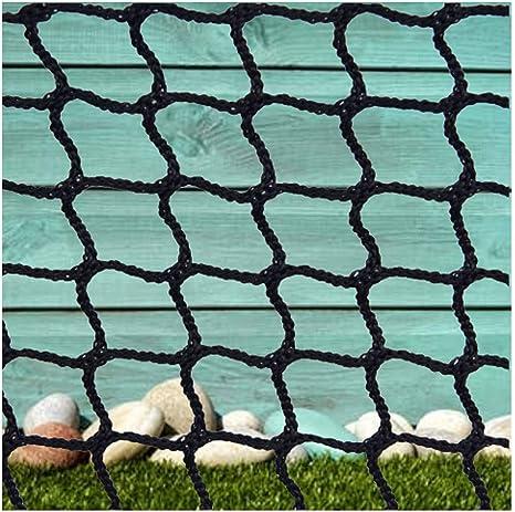 Red Seguridad Niños,Red Cuerda Negra Escalera Bebe de Terraza Protecciones Niños Deportes Escaleras Protección Gatos para Balcones Malla Nylon Goal Net Redes Bola Campo Aire Libre FúTbol Golf Bola: Amazon.es: Deportes y