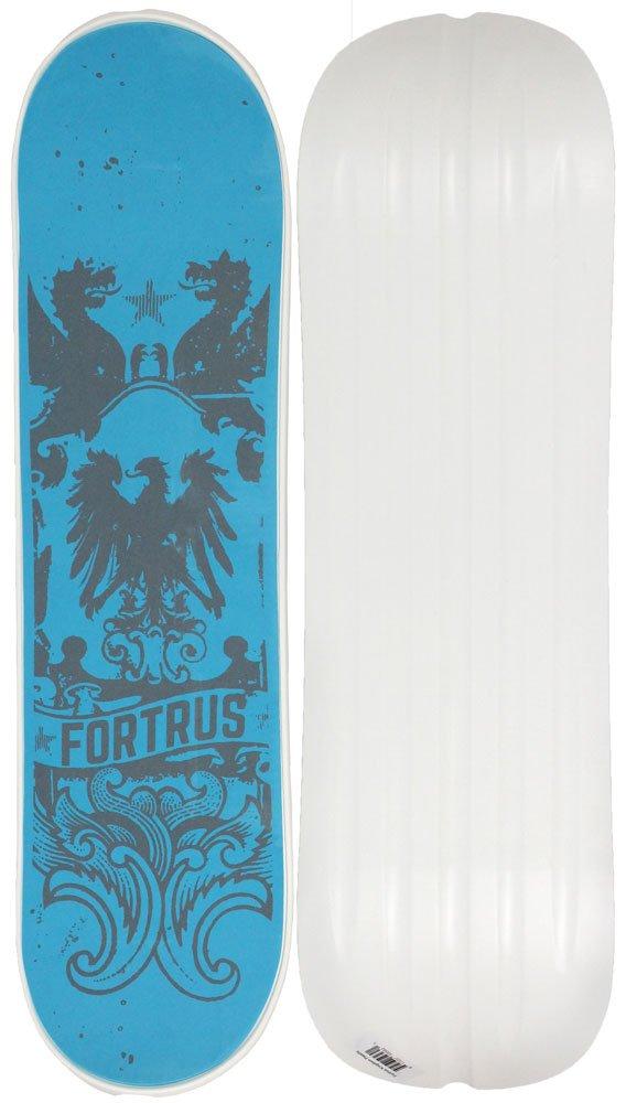 Fortrus Kingdom Snow Skate Snowboard Deck, White, 35'' by Fortrus