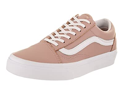 d6f595c127a2 Image Unavailable. Image not available for. Colour  Vans Women s Old Skool  Leather Trainers