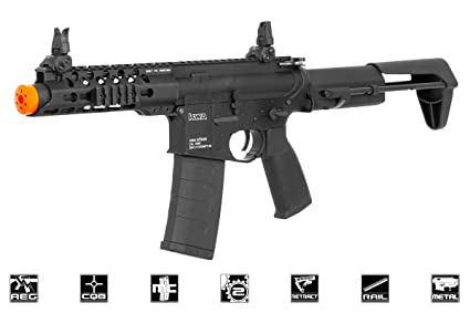 Amazon com : KWA Ronin 6 2 5 M4 PDW CQB AEG Airsoft Gun