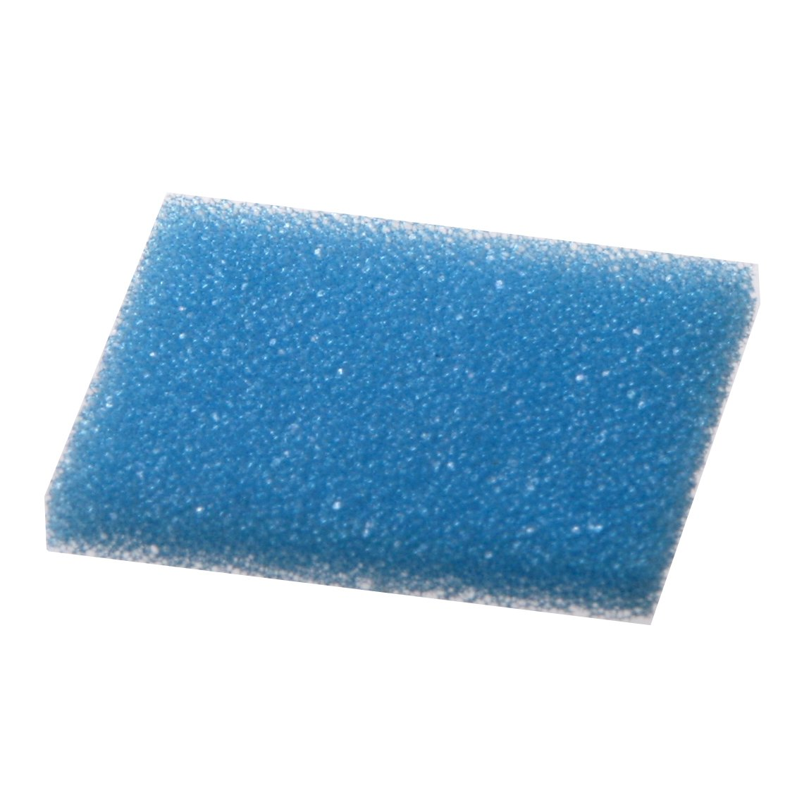 Bio Plas 6120 Blue Polyester Plastic Foam Biopsy Pad for 1 x 1-1/4'' Tissue Embedding Cassettes (Pack of 1000)