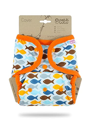 Amazon Com Petit Lulu Diaper Wrap One Size Snaps Reusable