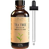Tea Tree Oil, Large 4 oz by Mary Tylor Naturals, 100% Pure Essential Oil, Therapeutic Grade, Melaleuca alternifolia