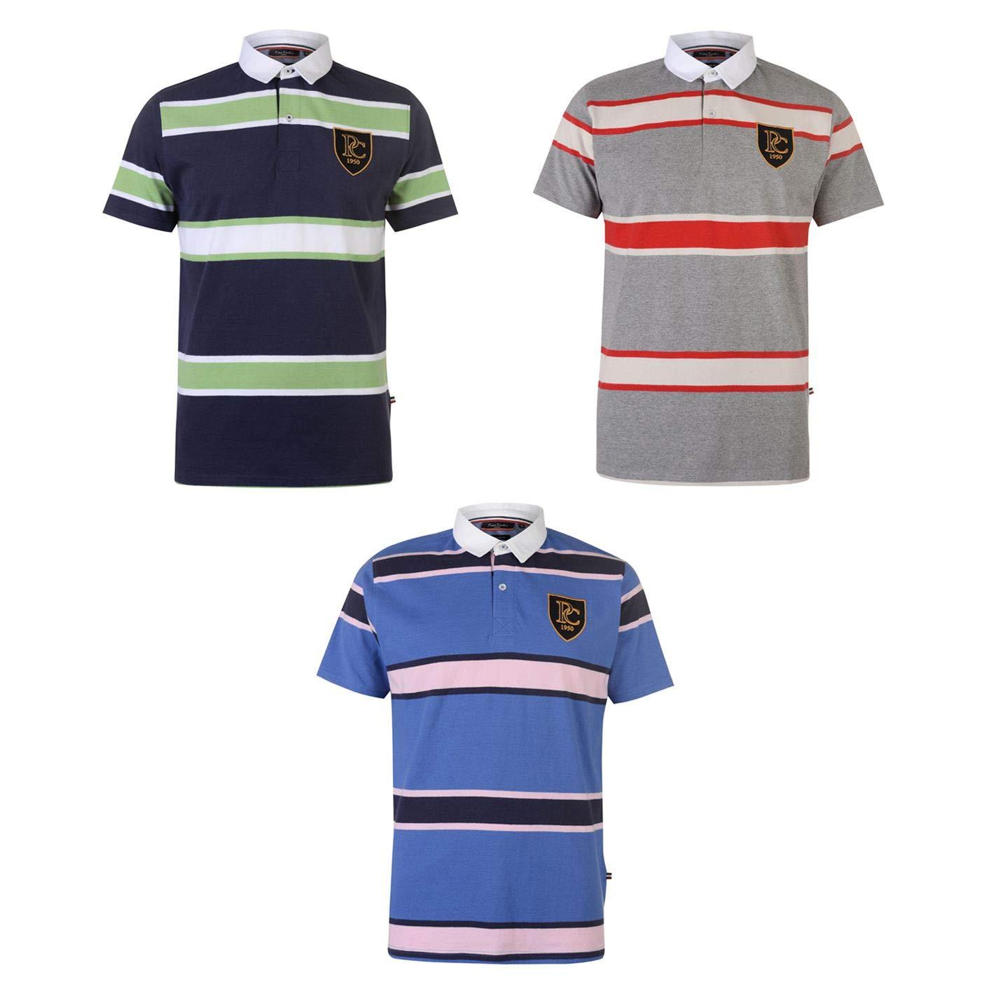 Pierre Cardin SS - Polo de Rugby para Hombre (Talla pequeña ...
