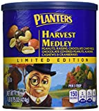 This is a nice mixture of nuts and chocolate. Great to snack on while watching TV, to have at a party or when you have friends over for a visit. You will receive 2- 16.5 ounce cans of Planters Limited Edition Harvest Medley Mix when you order...