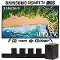 "Samsung Samsung UN65NU7100 65"" NU7100 Smart 4K UHD TV w/Sharper Image 5.1 Home Theater System"