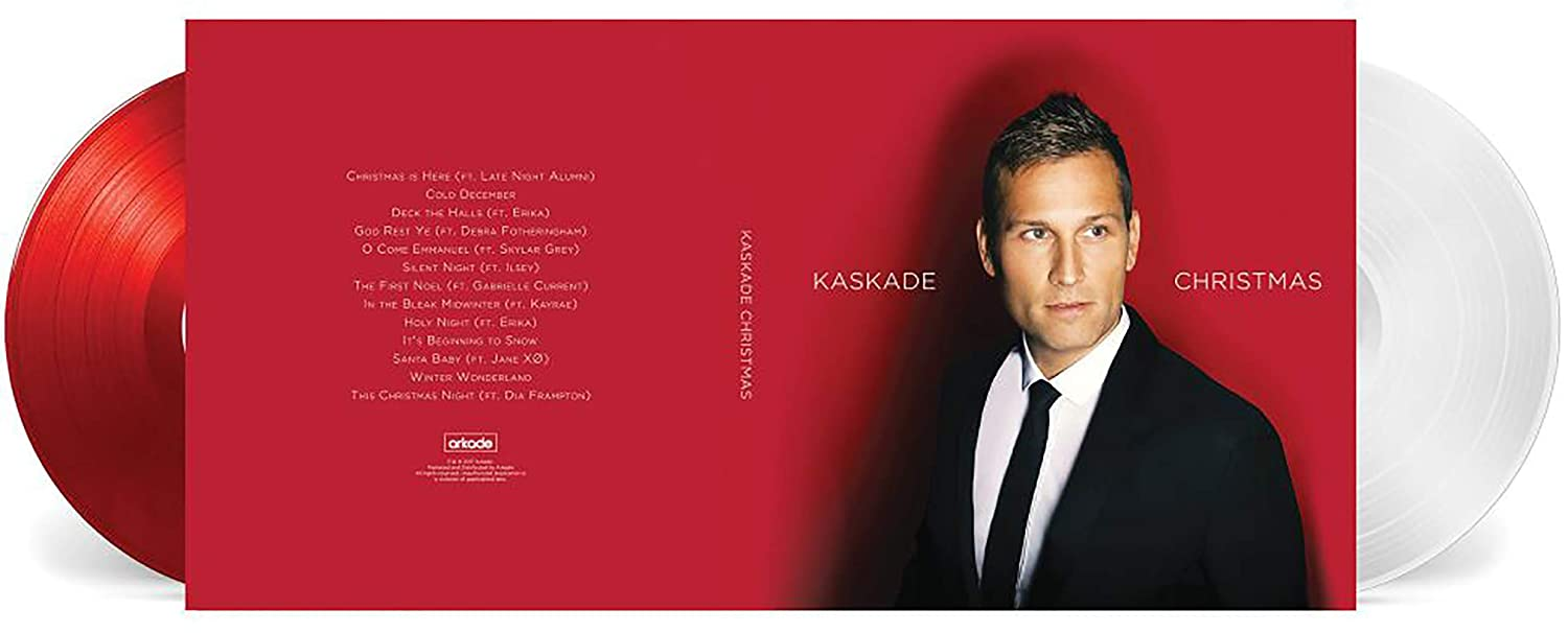 Kaskade Christmas.Kaskade Kaskade Christmas Limited Edition Red And White