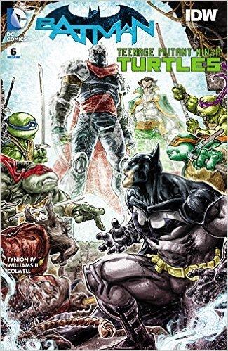 Batman Teenage Mutant Ninja Turtles #6 (of 6) Comic Book ...