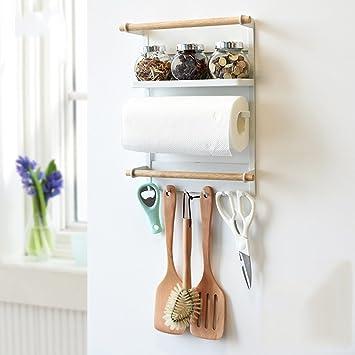 Amazon棚冷蔵庫ラック壁掛け棚ラック調味料台所用冷蔵庫 色 白