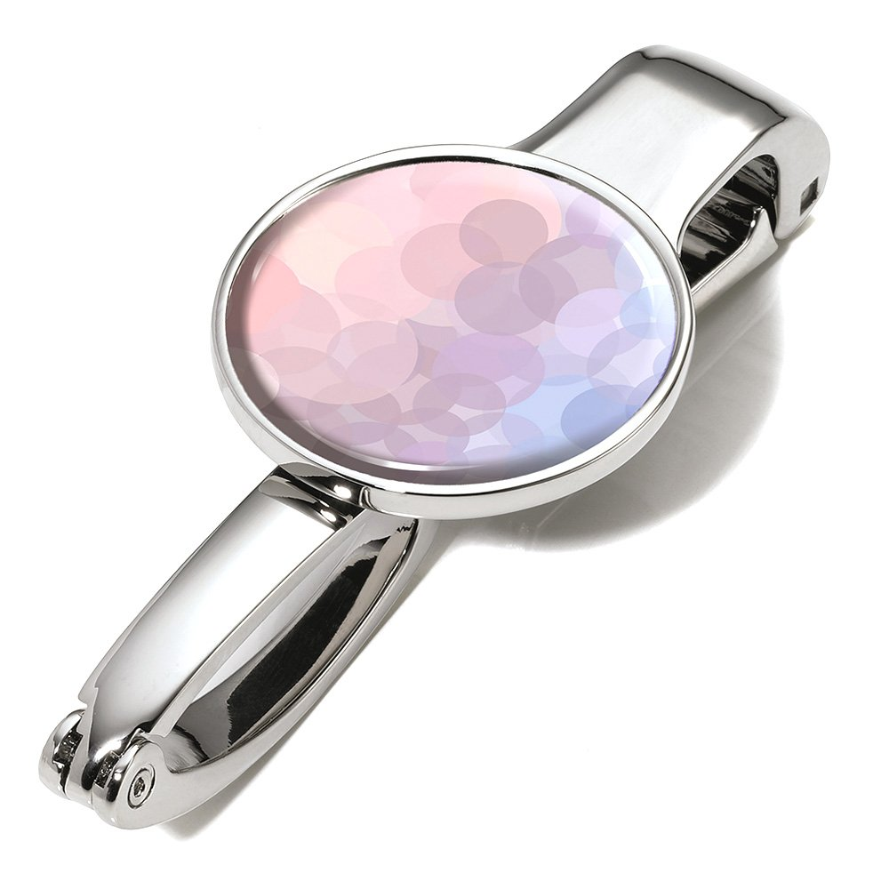 Troika 'Bolso Clip y –  Soporte con adornos –  # bgh03 de A166 –  Metal –  brillante –  Diseñ o: Serenity Rose –  Aguanta hasta 5