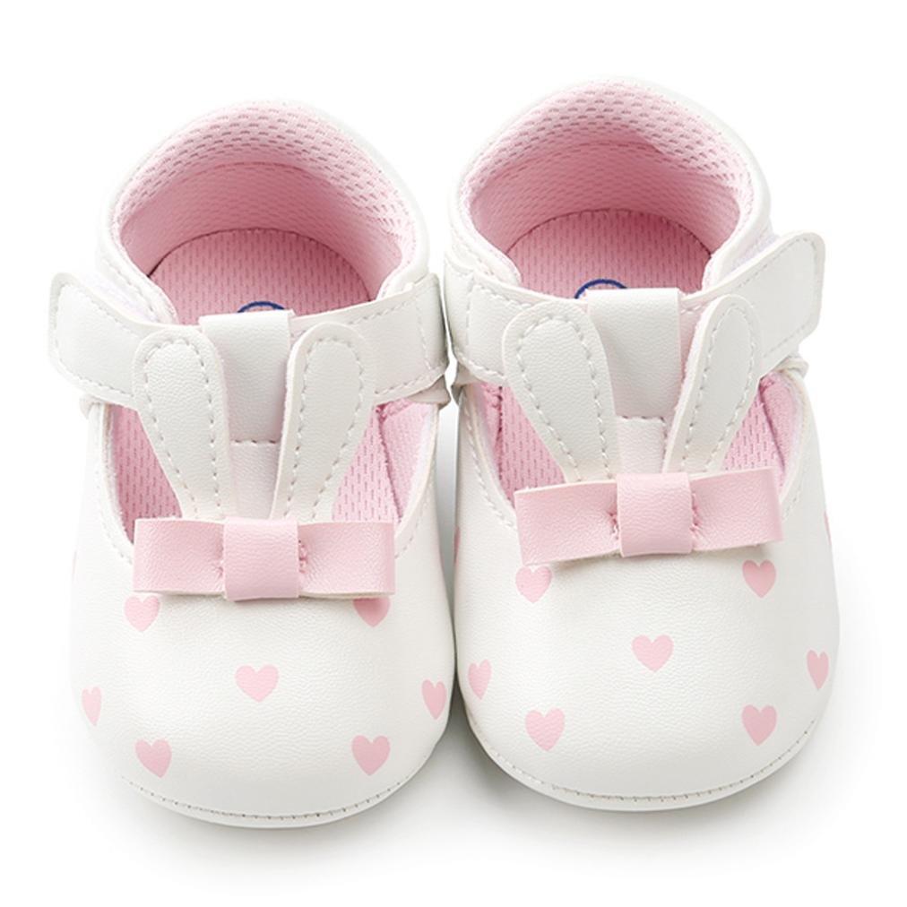 Zapatos Bebe Niña, ❤ Amlaiworld Bebé Niña Orejas de Conejo Zapatos de Cuna Zapatos Primeros Pasos para niñas Recien NacidoPrewalker: Amazon.es: Deportes ...
