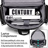 18.4 Inch Laptop Backpack,BRINCH Water Resistant