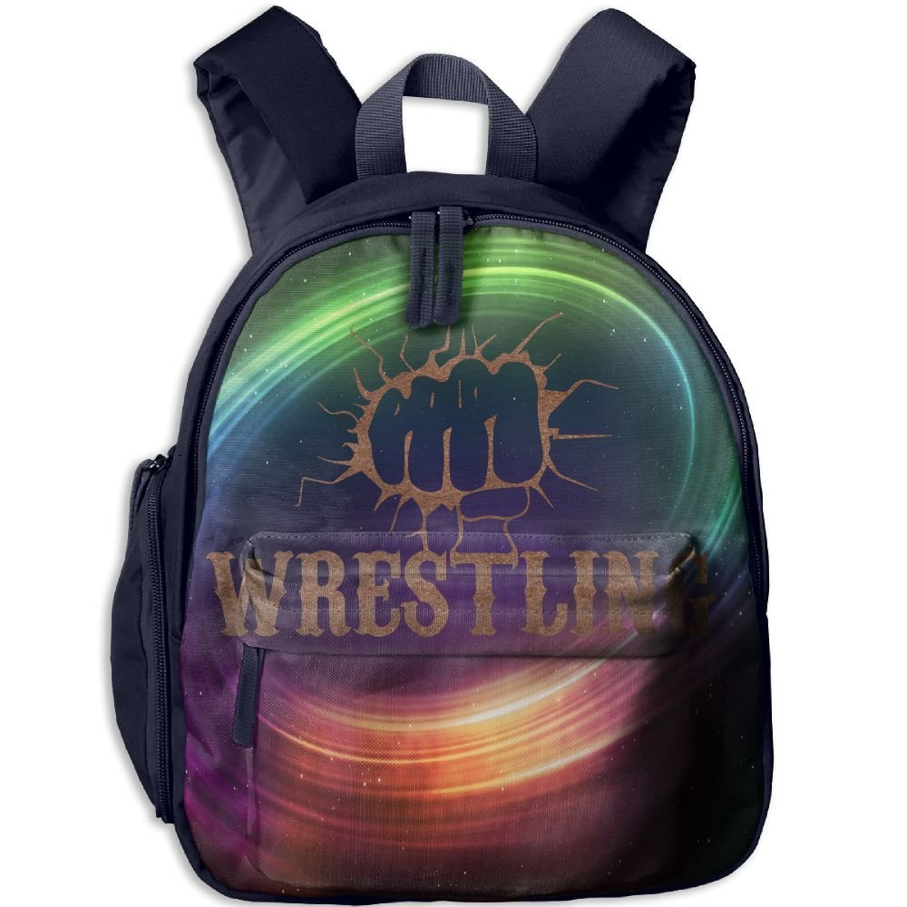 Fist Wrestling Vintage Lightweight Cute Durable Cute Childrens School Bag Best For Toddler