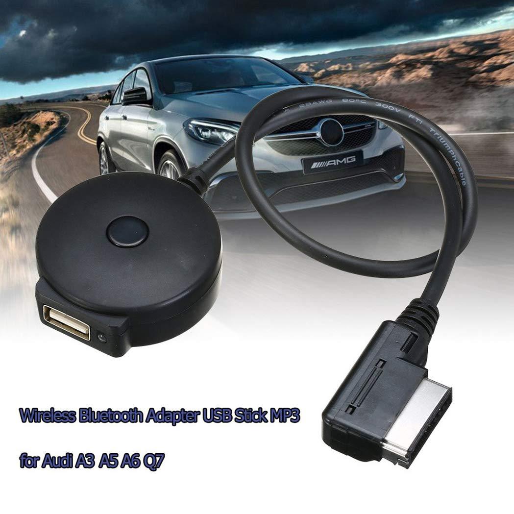 interfaccia Audio USB per Audi A3 A4 A5 A6 Q5 Q7 AMI MMI MD HarmonyHappy Cavo Adattatore Wireless Bluetooth 4.0