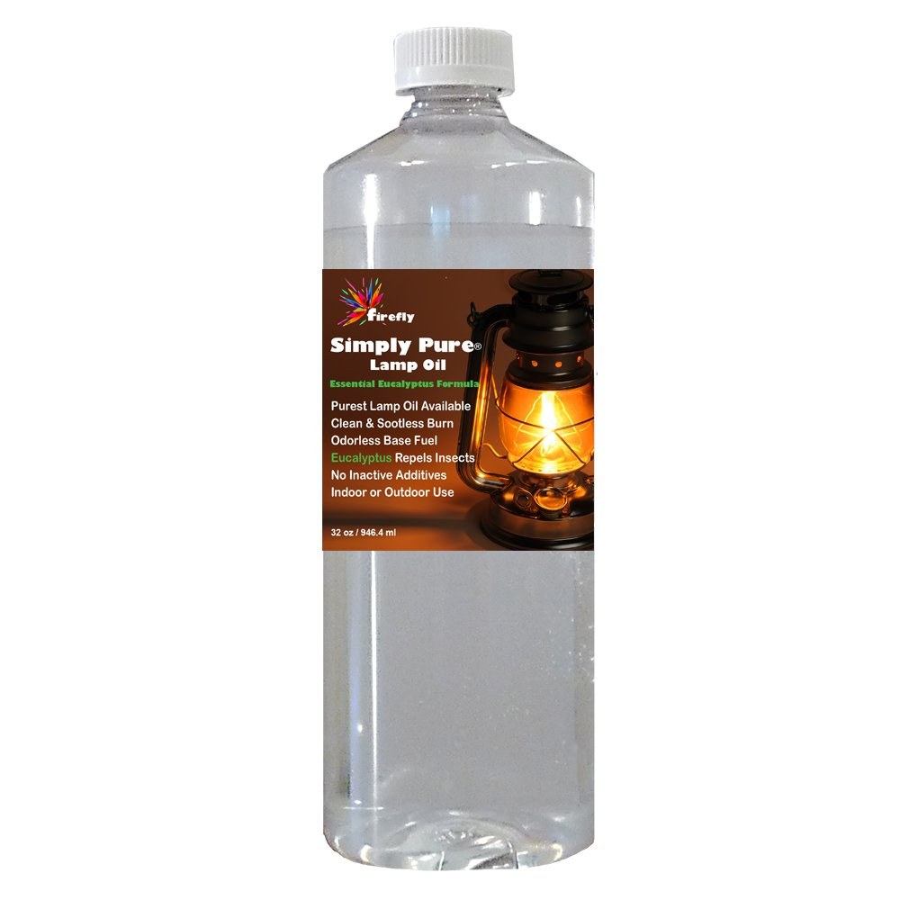 Amazon.com: Firefly Eucalyptus Paraffin Lamp Oil - 32 oz ...