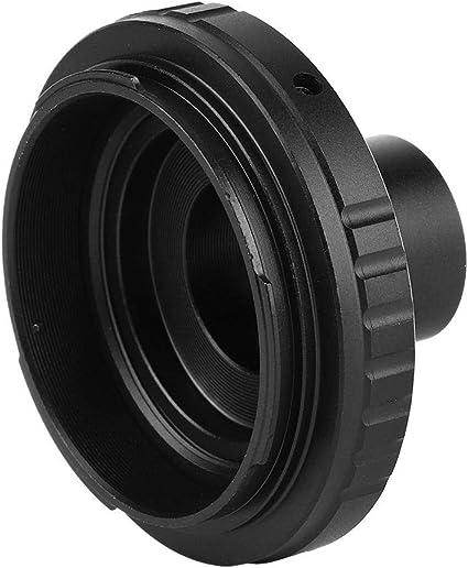 Pomya Anello Adattatore per Obiettivo Fotocamera Anello Adattatore Metallo LR-EOS Anello Adattatore per Obiettivo Leica R a per Attacco Canon EOS EF SLR Supporto Fotocamera