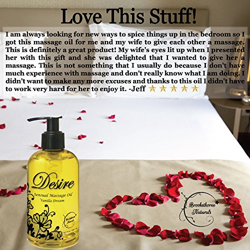 Desire sensual massage oil best massage oil for couples for Massage gifts for her