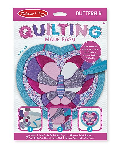 Melissa & Doug Quilting Made Easy - Butterfly Toy