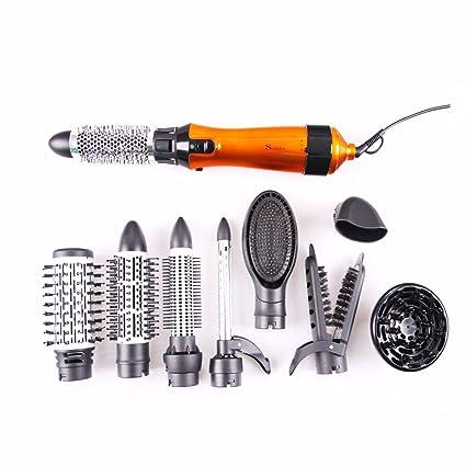 Rizador de pelo Surker 10 en 1 Multi de rulos pelo rizador de pelo secador de pelo profesional Kit de reparación ...