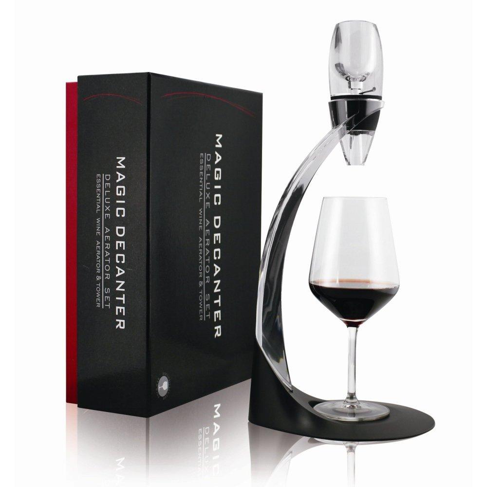 Mayshion Street Deluxe Premium Decanter Red Wine Aerator & Stand Oxygenator Flavour Bouquet Enhancer
