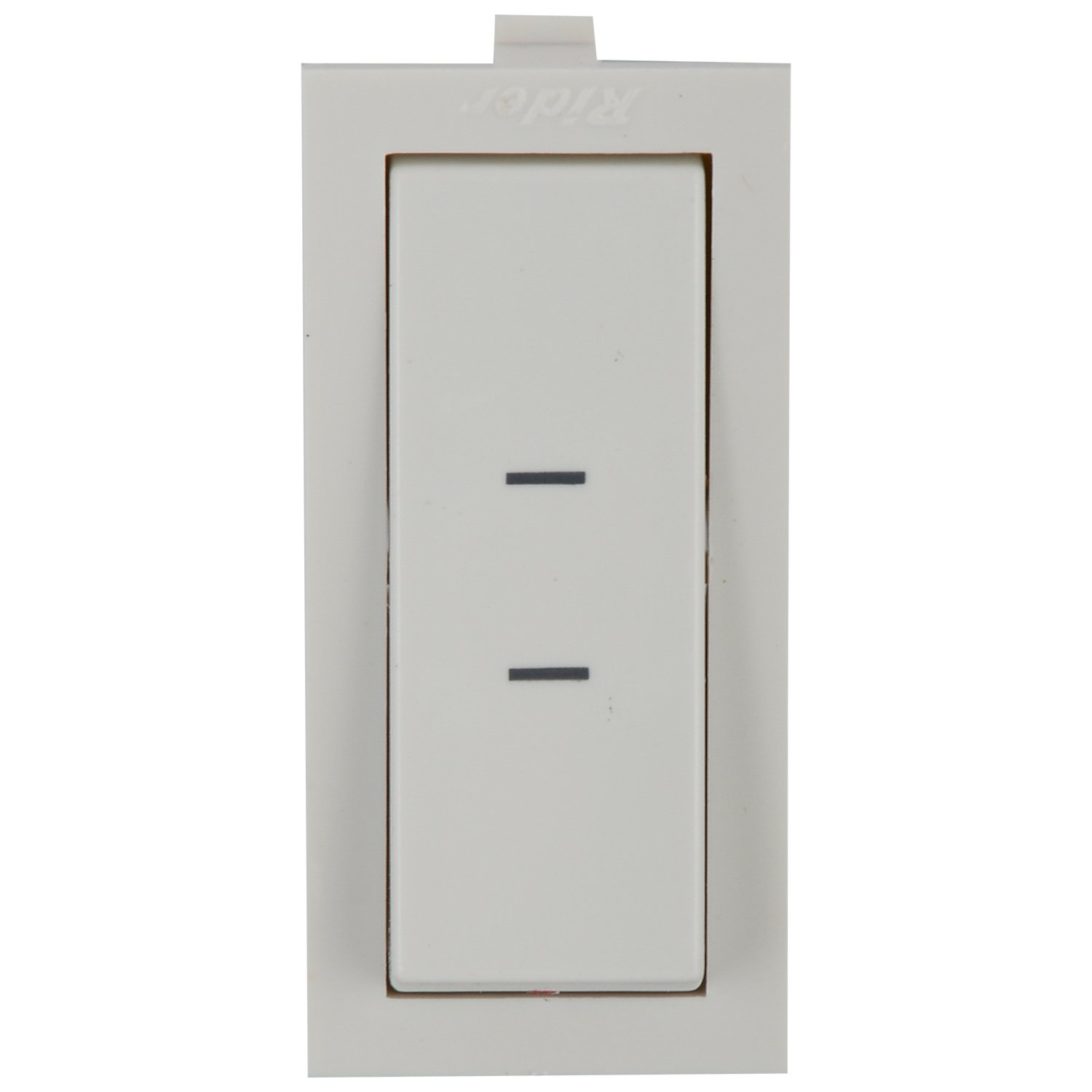 Anchor Rider 2 Way Switch Slim 47162 , White, 16A 240V: Amazon.in ...