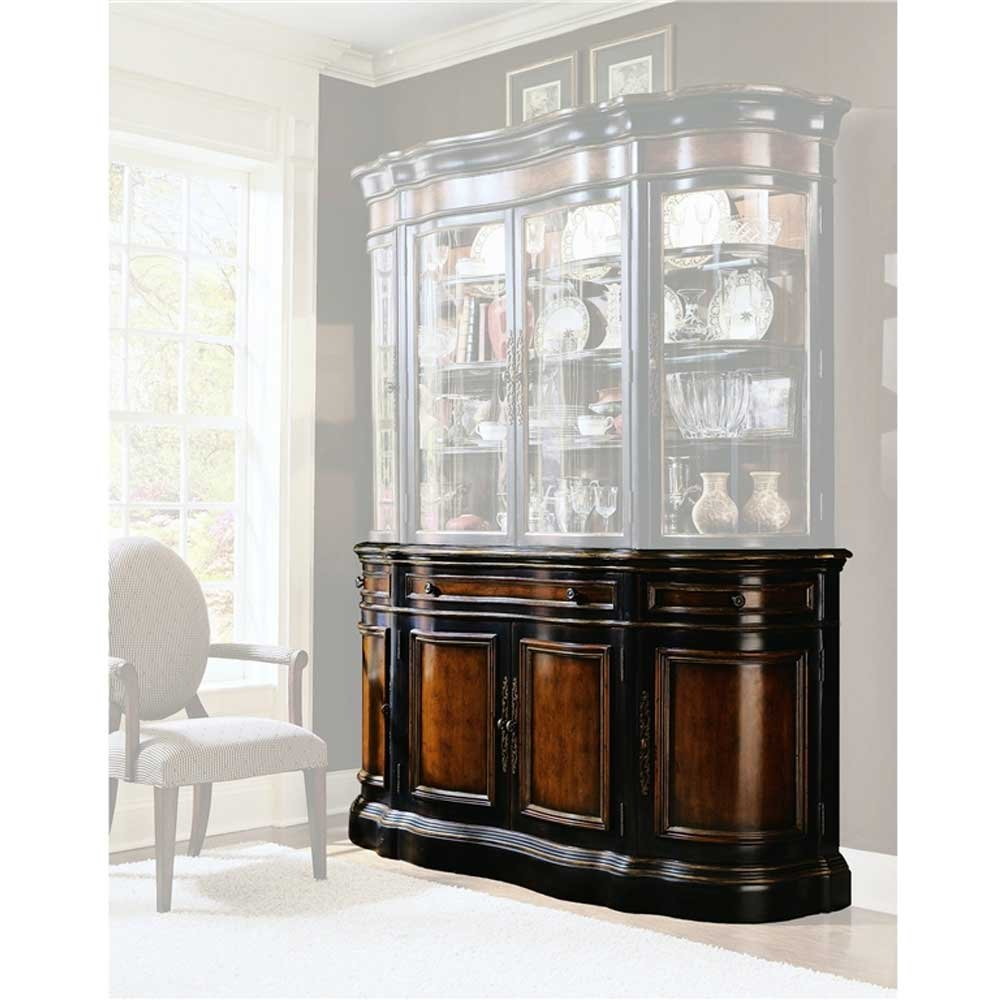 Amazon.com   Hooker Furniture Preston Ridge Buffet In Cherry/Mahogany  Finish   Buffets U0026 Sideboards