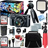 Canon PowerShot G7 X Mark II 20.1MP 4.2x Optical Zoom Digital Camera Video Creator Kit + 64GB SDXC Memory Card + Accessory Bundle