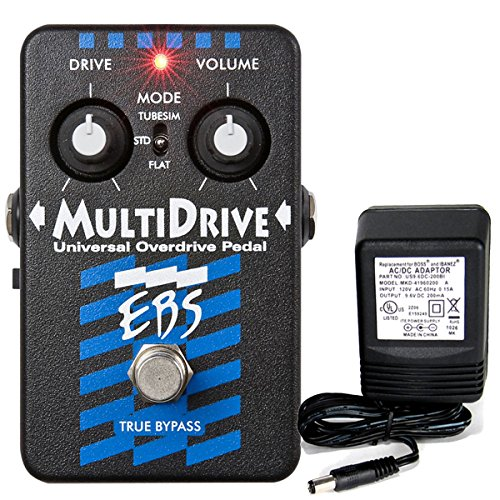 EBS Multi Drive  Universal Bass Overdrive Pedal by EBS