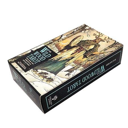 remote.S Tarot Tarjetas Inglés Juego de Cartas de Mesa Tarot Deck ...